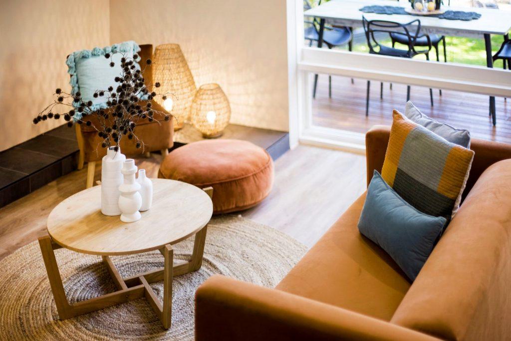 lounge room sofa and coffee table
